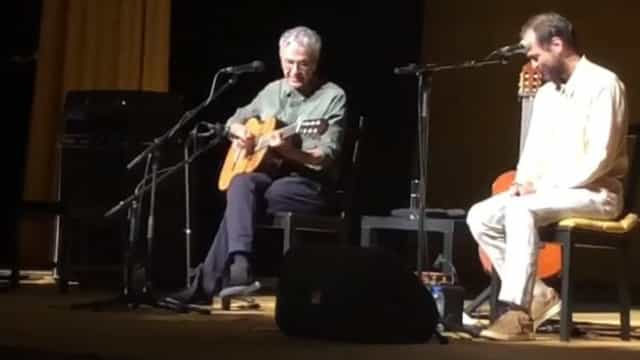 Caetano Veloso 'amou pelos dois' no Coliseu dos Recreios