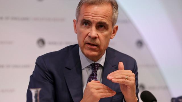 Falta de acordo sobre Brexit preocupa governador do Banco de Inglaterra