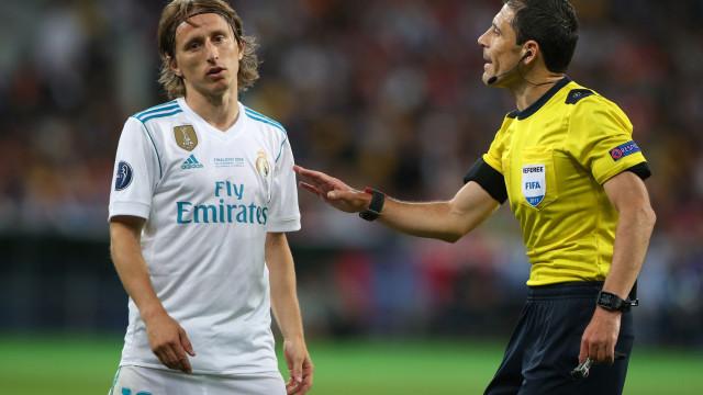 Real Madrid ameaça levar o Inter à UEFA por causa de Modric