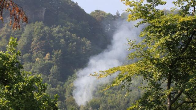 Pequeno avião cai em floresta na Suíça. Vários mortos