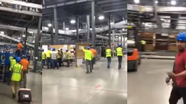 Trabalhadores mexicanos abandonam trabalho após despedimento de colegas