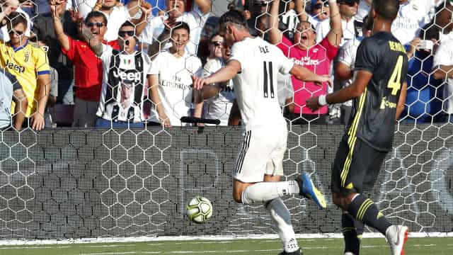 'Baby' Real Madrid vence Juventus à boleia de Bale e Asensio