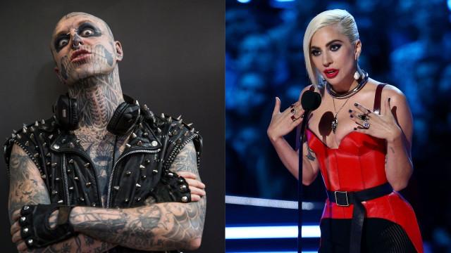 Lady Gaga pede desculpa a família do 'Zombie Boy' após mensagem
