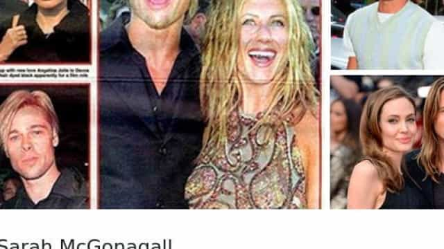 Pandã? Brad Pitt gosta de ficar parecido com as mulheres com quem namora