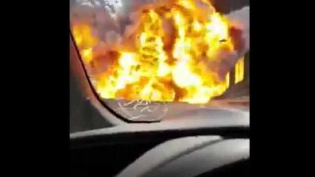 O (assustador) momento da explosão em Bolonha que causou dois mortos