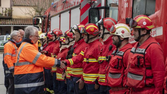"""MAI diz que bombeiros são """"a grande força da estrutura da proteção civil"""""""