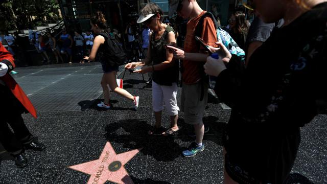 Conselho Municipal quer remover estrela de Trump do Passeio da Fama