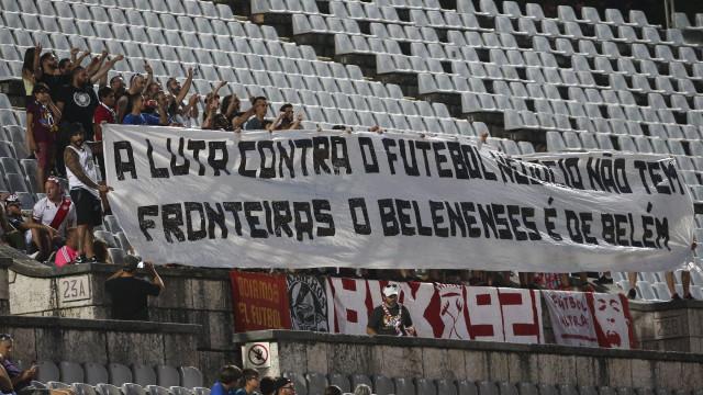 Adeptos do Rayo Vallecano deixam dura mensagem à direção do Belenenses
