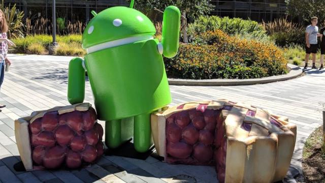 Nova estátua do Android já chegou à sede da Google