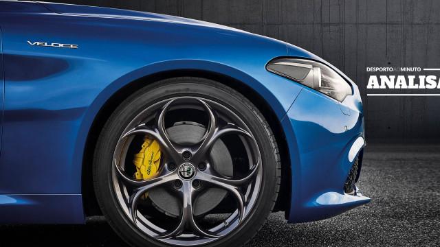 Alfa Romeo Giulia: 'Veloce' é a palavra que lhe assenta na perfeição