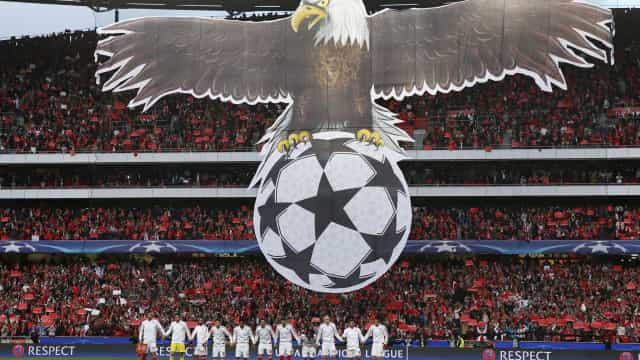 [0-0] Benfica-Fenerbahçe: Cervi fica a pedir penálti na Luz