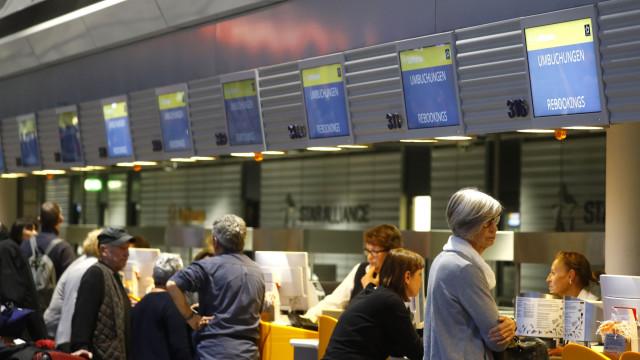 Evacuação de terminal em Frankfurt afetou 60 voos e 13 mil passageiros