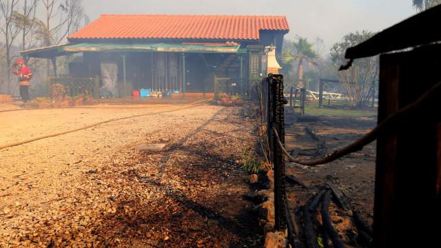 Oficial: Governo assegura apoios à reconstrução de casas em Monchique