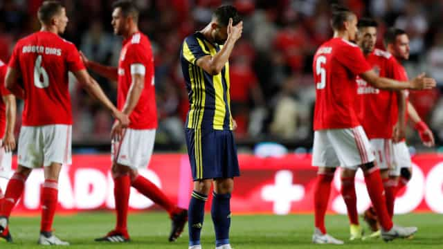 O desânimo na voz dos turcos. Golo de Cervi até calou os relatores