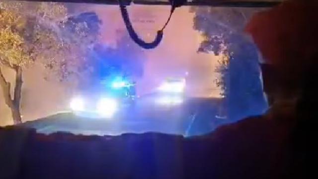 Bombeiros partilham imagens assustadoras do incêndio em Monchique