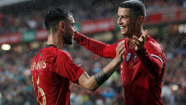 Bruno Fernandes revela o que mais o surpreendeu em Ronaldo