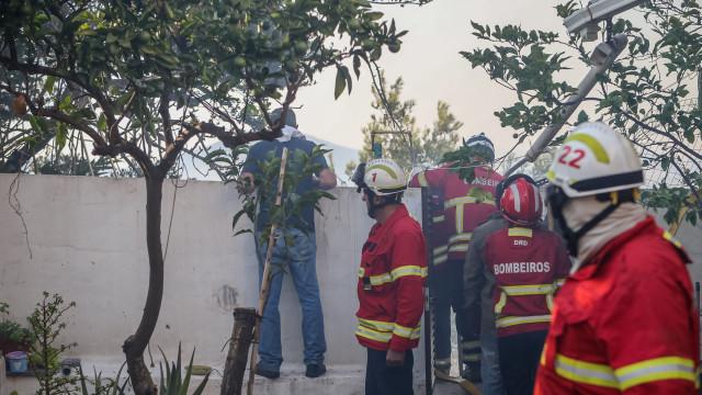 Mesmo com o fogo dominado, ainda há quem não descanse em Monchique