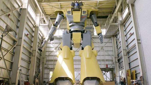 O maior robot do mundo foi construído por uma única pessoa