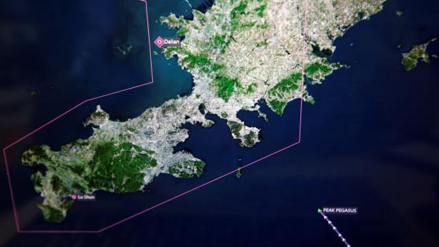 Há um mês a navegar sem rumo, vítima da guerra comercial EUA/China