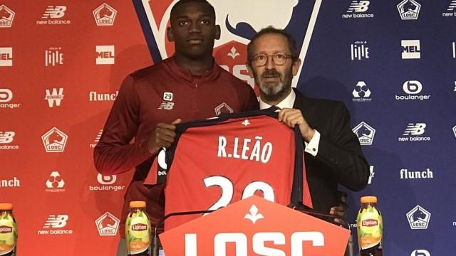 """Rafael Leão explica saída do Sporting: """"Violência não leva a lado nenhum"""""""
