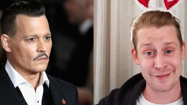 "Macaulay Culkin sobre Johnny Depp: ""Só quer saber de dinheiro"""