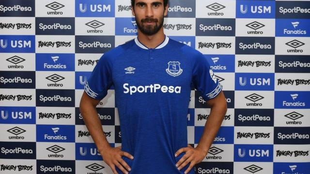 André Gomes ansioso por estrear-se pelo Everton