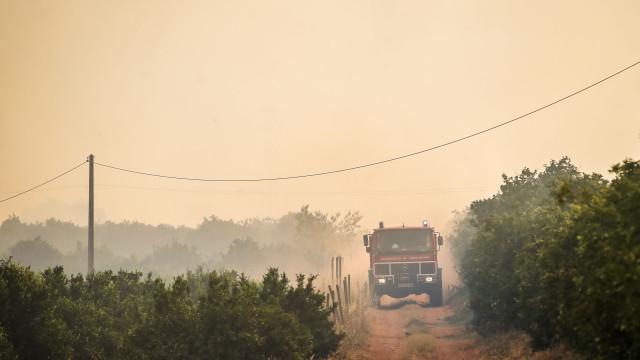 Chamas em Monchique já queimaram perto de 27 mil hectares