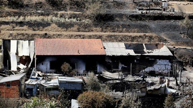 Fogo de Monchique destruiu 5 vezes mais área do que os 6.505 até julho