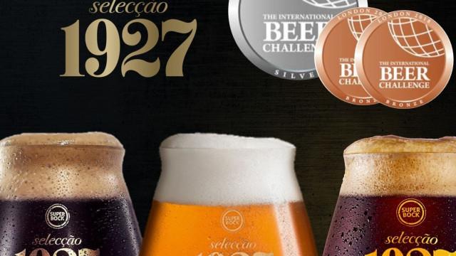 Cervejas Super Bock Selecção 1927 entre as melhores do mundo