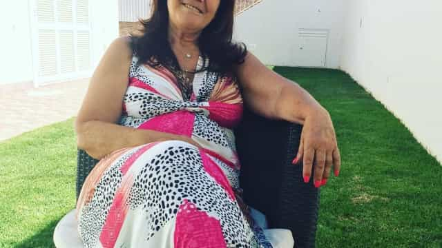 """""""Que chique"""": Dolores Aveiro em pose de diva"""