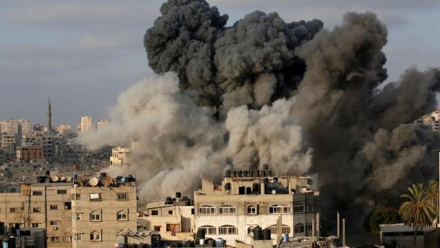Aumenta para seis o número de vítimas dos bombardeamentos em Gaza