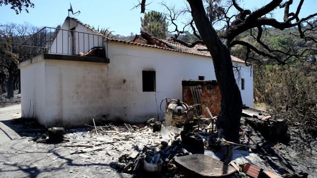 """Monchique: Tanque de água salvou a vida de João, """"veterano"""" dos fogos"""