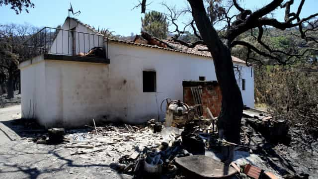 Seguradoras apuram danos superiores a dois milhões em Monchique