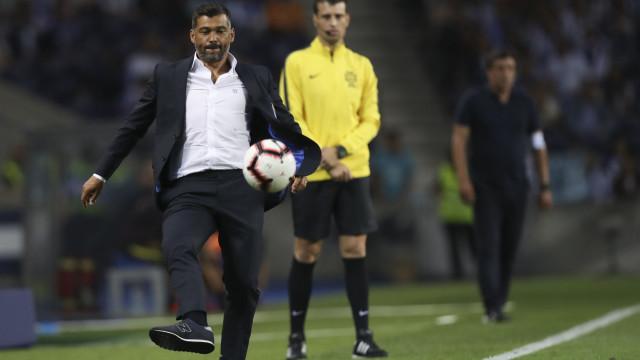 V. Setúbal-FC Porto em direto: Conceição não mexe uma única peça