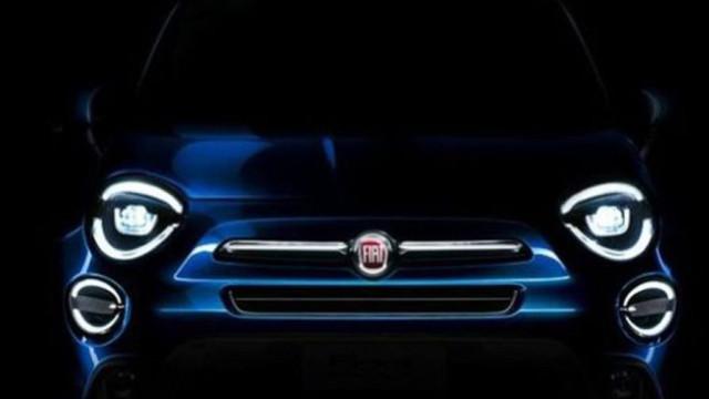 """Fiat revelou """"um pouco"""" do novo 500X"""
