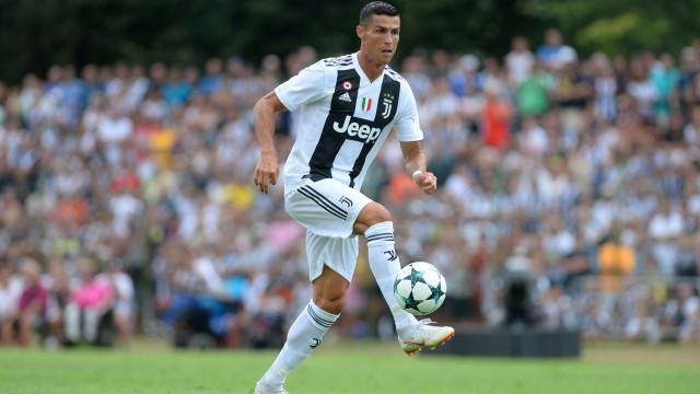 Efeito CR7 'explode' número de seguidores da Juventus nas redes sociais