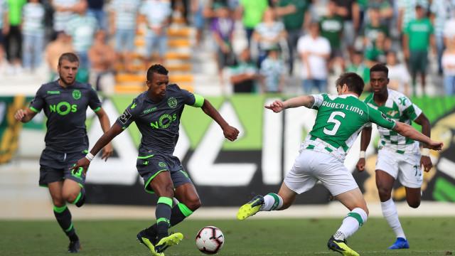 [1-1] Moreirense-Sporting: Bruno Fernandes perto do segundo!