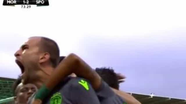 Bas Dost concretiza grande penalidade conquistada por Jovane Cabral