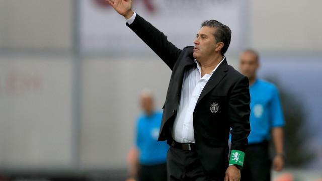 [0-0] Sporting-Marítimo: Salin tira o 'pão da boca' a Correa