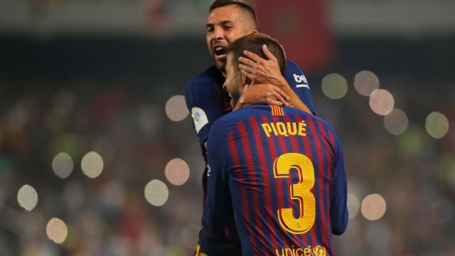 Barcelona vence Sevilha e conquista a Supertaça