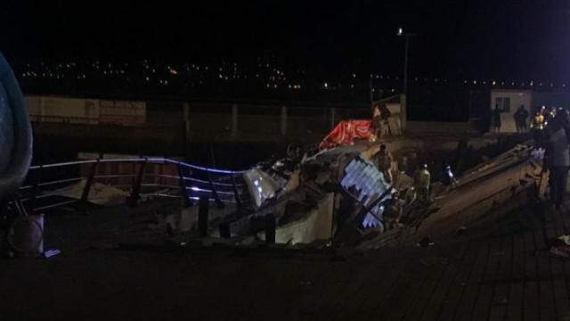 Mais de 260 feridos em queda de plataforma em festival de música em Vigo
