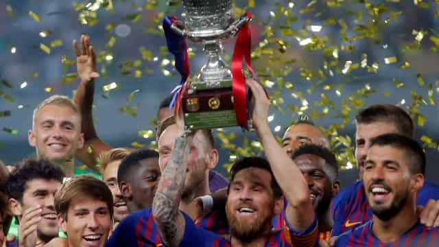 Conquista da Supertaça vale marca histórica a Messi