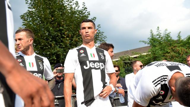 Dirigente da Juventus explica ausência de Ronaldo na cerimónia da UEFA