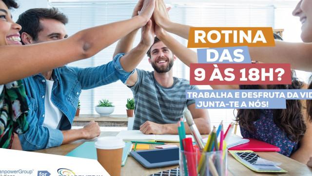Há 300 vagas de emprego em Matosinhos e Braga
