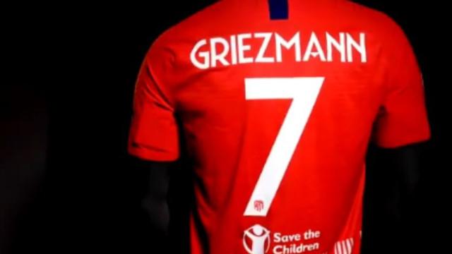 Atlético vai defrontar Real com uma mensagem especial na camisola