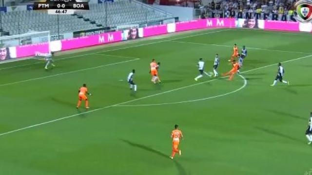 David Simão marca golaço e desata igualdade entre Portimonense e Boavista