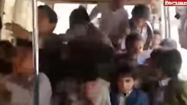 Imagens mostram últimos momentos de crianças vítimas de ataque no Iémen