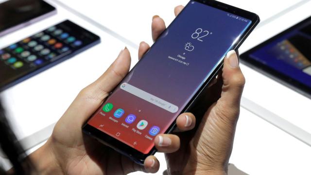 Não estão a ser poupados elogios ao ecrã do Galaxy Note 9