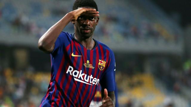 Dembélé só deixa Barcelona por proposta 'astronómica'