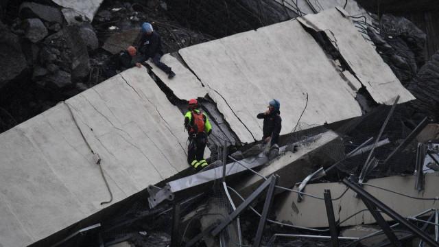 Concessionária da ponte de Génova afundou 22% em bolsa após tragédia